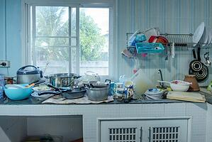 Messy Kitchen | Eskaton Senior Care