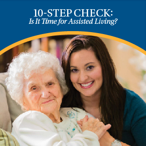 Is it Time for Assisted Living Checklist | Eskaton