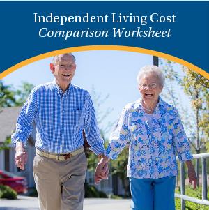 Independent Living Cost Comparison Worksheet | Eskaton